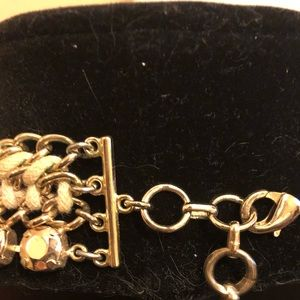 BCBGMaxAzria Jewelry - BCBG max azria Gold statement goddess necklace